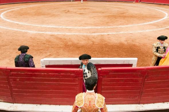 Prepare the matador.