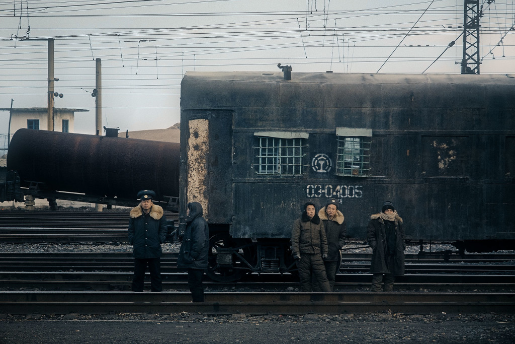 Rail gang, North Hamyong province.