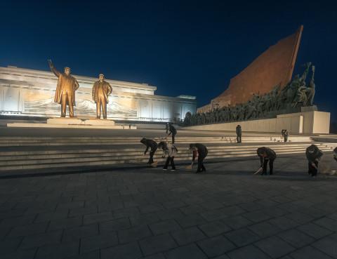 Winter in North Korea's Potemkin City